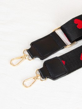 Bag Strap - Queen of hearts