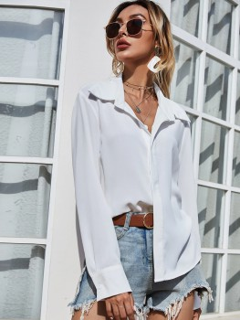 Blouse - Casual White