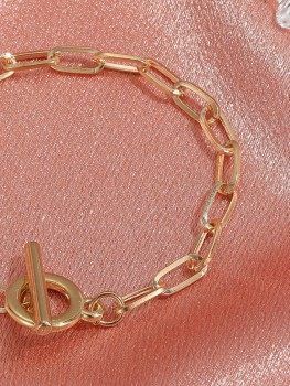 Bracelet - Say to me - silver/gold