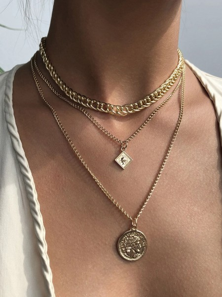 Necklace - Layered love