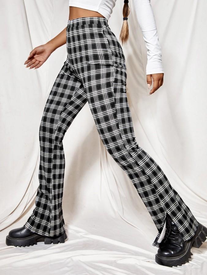 Pants - Blocked flare