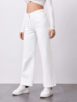 Pants - The Perfect Pants - Blauw/Wit